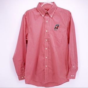 NEW Portland Trailblazers Red Button Down Shirt